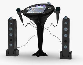 Singing Machine iSM1059BT TFT Display CDG Karaoke 3D model