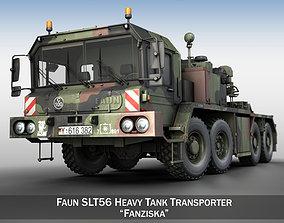 Faun STL-56 Tank Transporter 3D