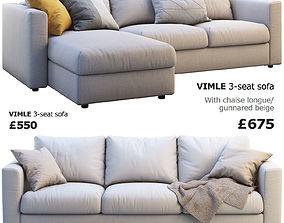 Ikea Vimle 2 options 3D