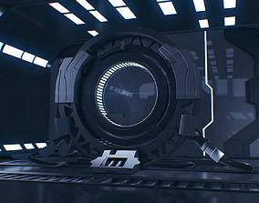 Sci Fi 3D Interior - Maya - 3Ds Max - Cinema 4D - FBX -