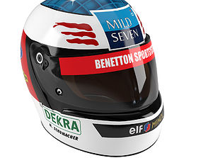 3D Helmet Michael Schumacher 1994