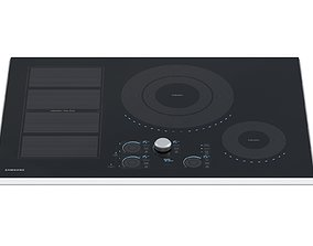 3D model Samsung Induction Cooktop 30 Inch