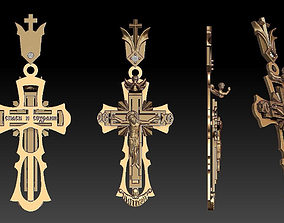 3D printable model PENDANT Religious Cross 10