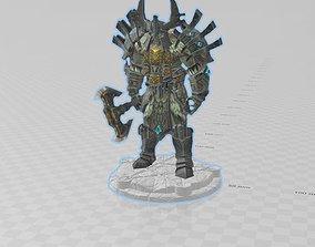War Viking Figurine 3 d Print