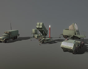 MIM-104 Patriot 3D model
