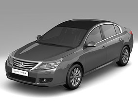 3D model 2011 Renault Latitude