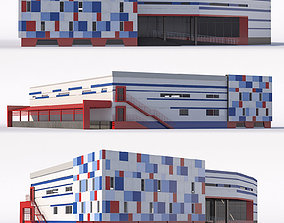 3D model Shopping center