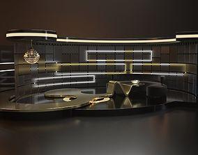 3D model TV Set Design