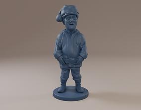 Donald Trump Santa Claus 3D printable model