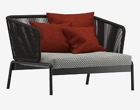 3D Roda Spool Sofa