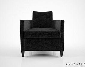 3D Ensemble Club chair Hutton