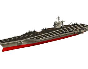 Aircraft Carrier 3D asset