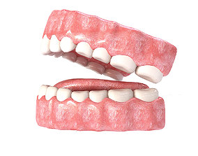 Realistic Mouth teeth 3D model