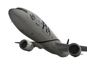 Boeing 777-200LR Pakistan Airlines 3D model