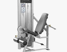 Life Fitness Optima Series Leg Exte 3D