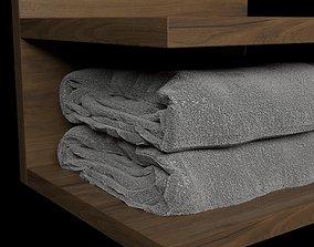 Towels 3D furniture