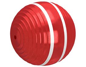 3D model Croquet Ball Red