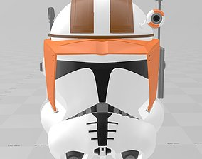 Star Wars Clone Wars Commander Cody Helmet 3D print model