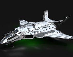 3D asset Jet Fighter - Source Files Attached 8K