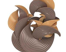 Erik Demaine sculpture Earthtone Series 3D model