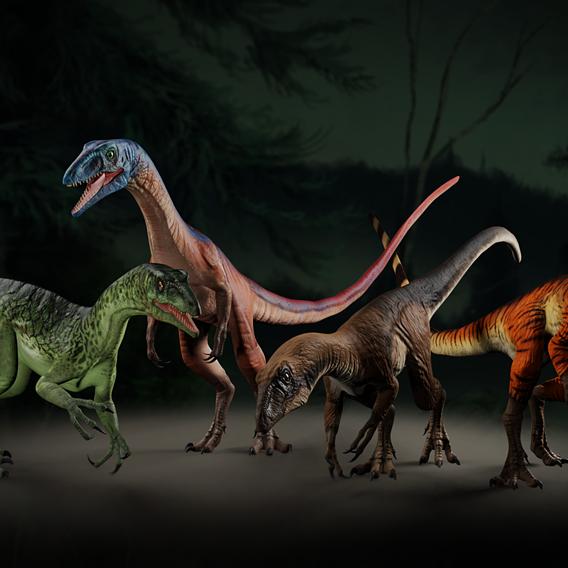 Tawa hallae dinosaur - Prehistoric Fury