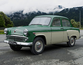 3D model MZMA Moskvitch-407 1962 other