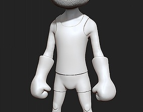 Cartoon Figure 3D print model