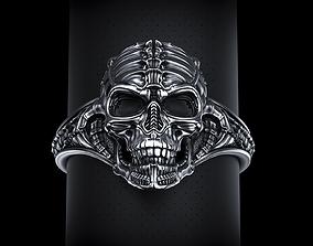 3D printable model Biomechanical Skull Ring Silencer