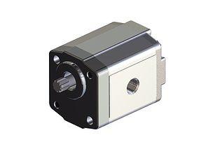 3D Gear pump