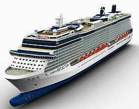 Celebrity Reflection Cruise Ship 3D model