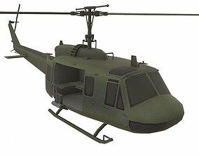 Bell UH-1 Iroquois 3D asset VR / AR ready PBR