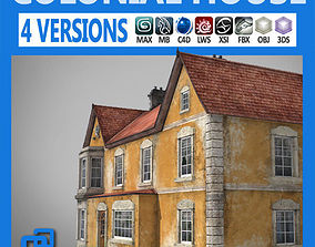 3D Realistic Old Building