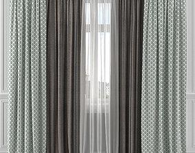 Curtain Set 168C 3D model