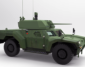 3D model Otokar Akrep II