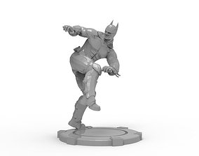 Batman - Mma Kick 3D print model