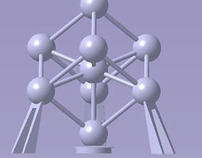 Atomium 3D print model