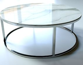 3D model Marble Round Coffee Table