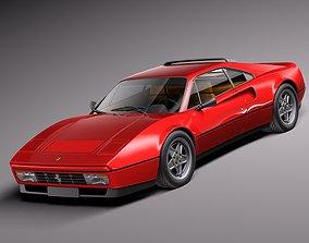 Ferrari 328 GTB GTS 1985-1989 1988 3D model