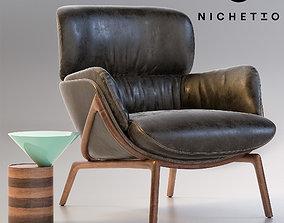 Nichetto Elysia Lounge Chair 3D