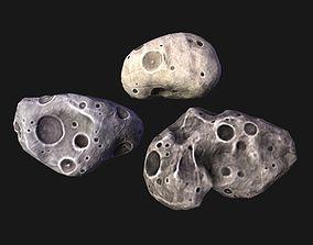 3D model Meteorites lowpoly