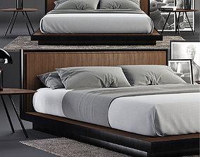 Envy Queen Bed SET 3D