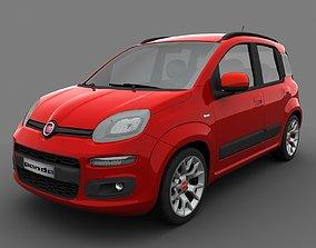 3D Fiat Panda 2017