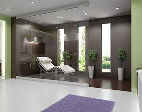 Modern Spa Room 3D model