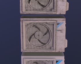 3D asset low-poly Air conditioner