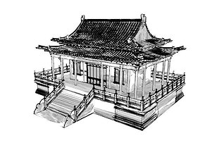 ink painting material and sketch material for 3D