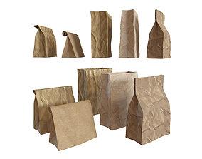 Paper packets 3D
