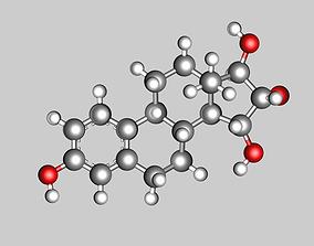 3D Estetrol molecule