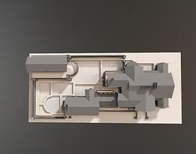 3D model Dana Thomas House Frank Lloyd Wright