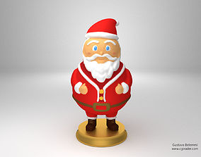 3D print model Sculpture of Santa Claus decoration