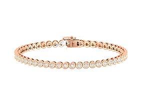 printable jewellery Women bracelet 3dm stl render detail